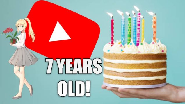 Today is a special day -7 years already!